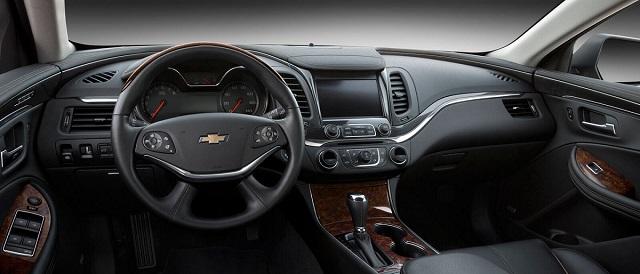 2021 Chevrolet Impala cabin