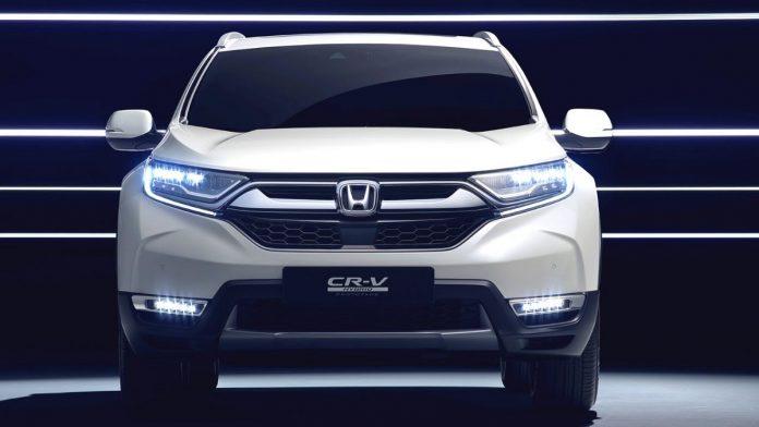 2021 Honda CR-V front