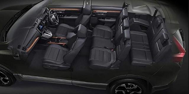 2021 Honda CR-V seats