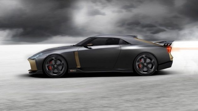 2021 Nissan GT-50 Italiadesign side