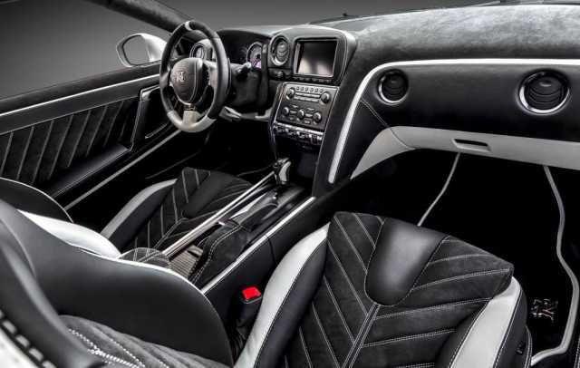2021 Nissan GT-R R36 Skyline cabin