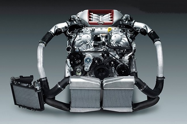 2021 Nissan GT-R R36 Skyline engine