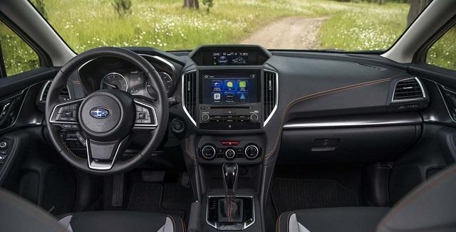 2021 Subaru Crosstrek XTI cabin