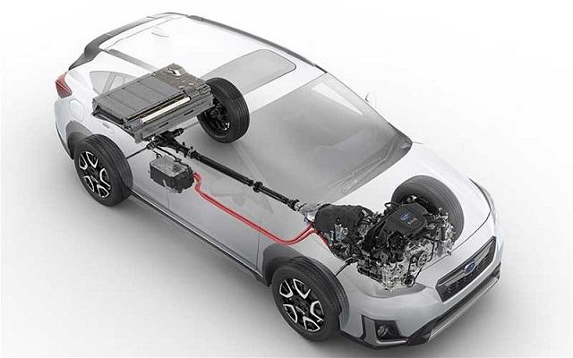 2021 Subaru Crosstrek XTI engine