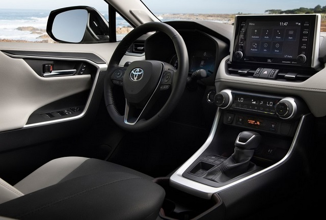 2021 Toyota RAV4 Hybrid cabin