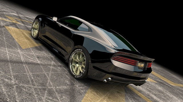 2021 Trans Am rear