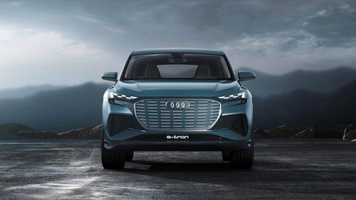 2022 Audi Q4 e-tron front