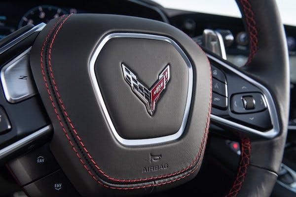 2022 Chevrolet Corvette Z06 cabin