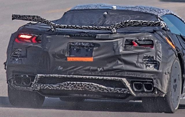 2022 Chevrolet Corvette Z06 rear