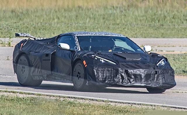 2022 Chevrolet Corvette Z06 spy image