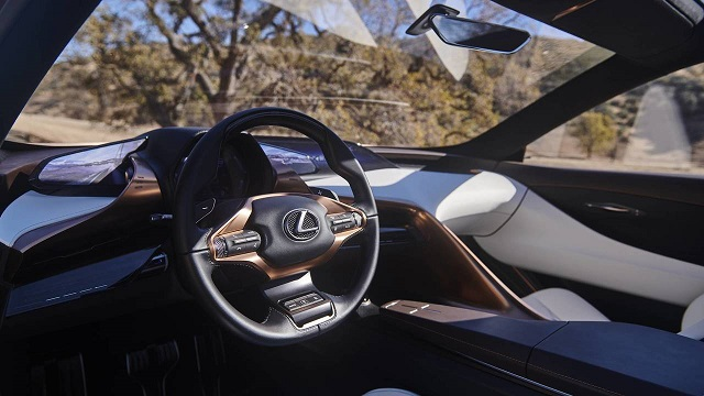 2022 Lexus LQ cabin