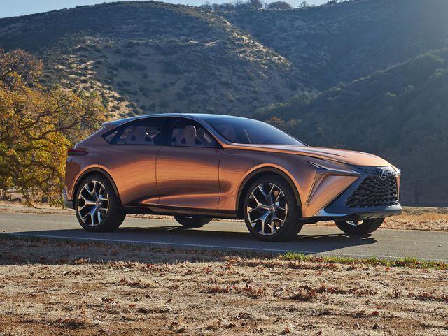 2022 Lexus LQ front