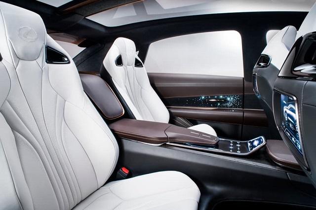 2022 Lexus LQ seats