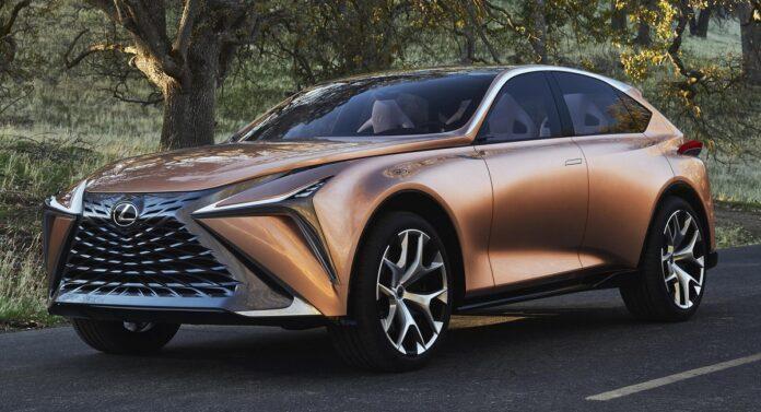 2022 Lexus LQ side