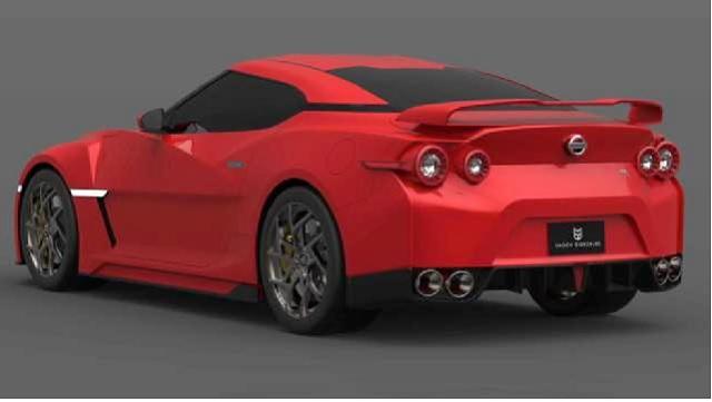 2022 Nissan GT-R rear