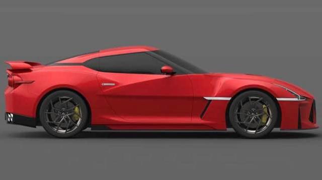 2022 Nissan GT-R side