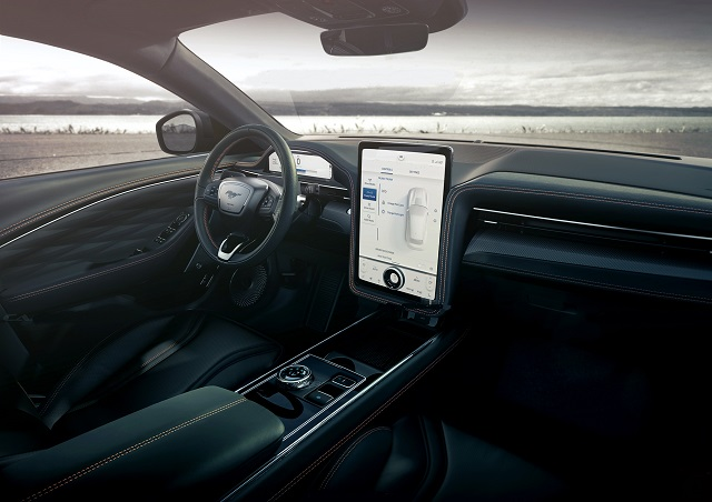 2023 Ford Mustang cabin