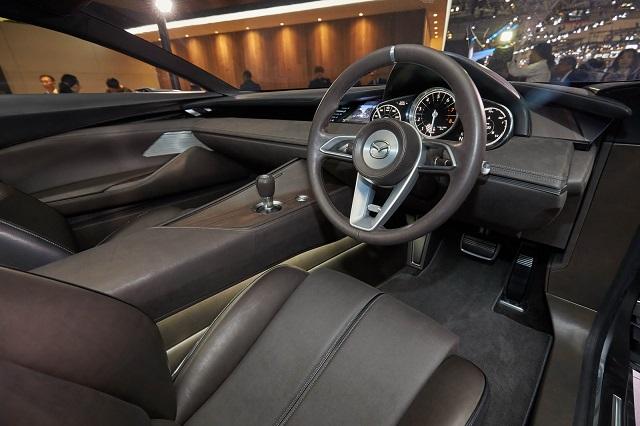 2023 Mazda 6 cabin