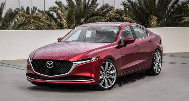 2023 Mazda 6 front