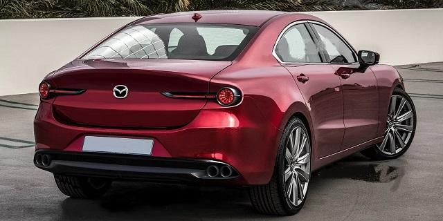 2023 Mazda 6 rear