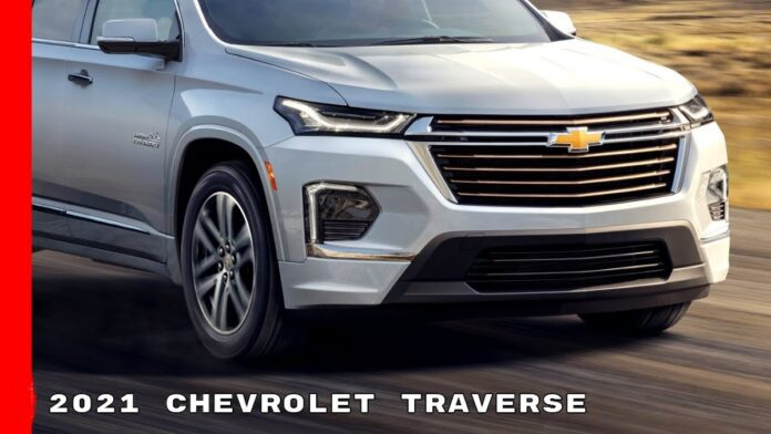 2021 Chevrolet Traverse front