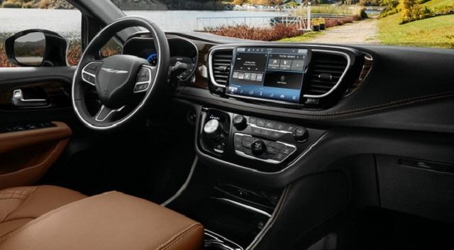 2021 Chrysler Pacifica cabin