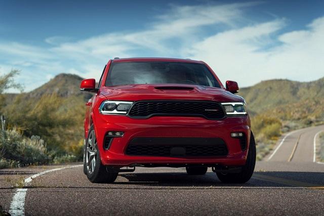 2021 Dodge Durango front