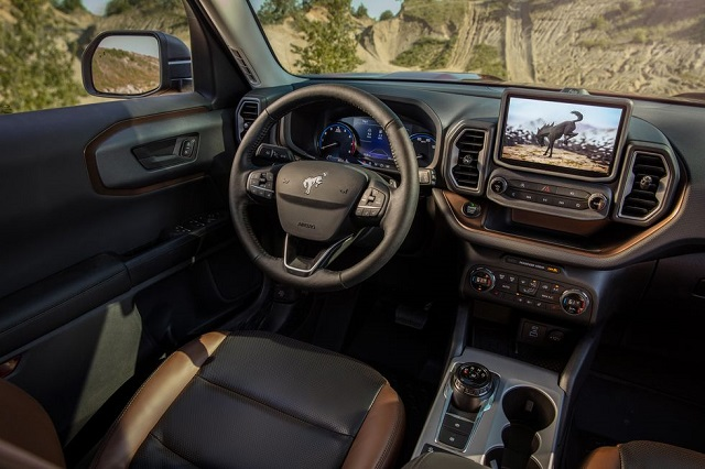 2021 Ford Bronco Sport cabin