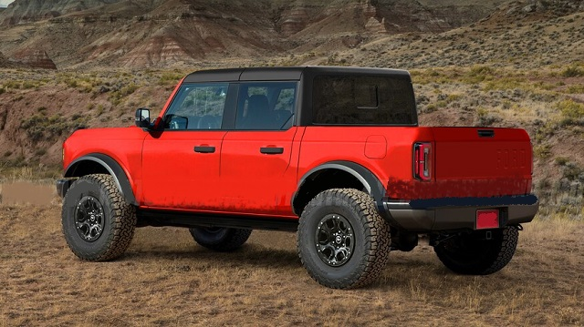 2021 Ford Bronco pickup truck