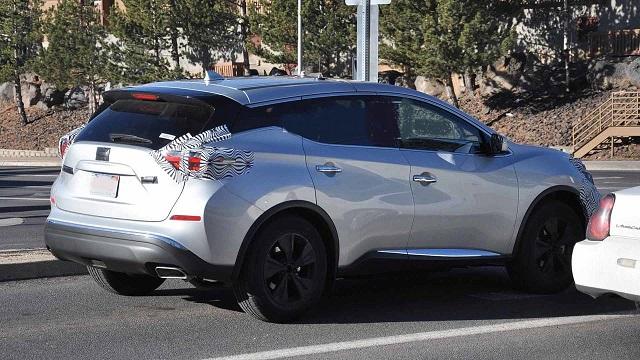 2021 Nissan Murano rear