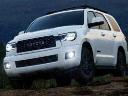 2021 Toyota Sequoia Front