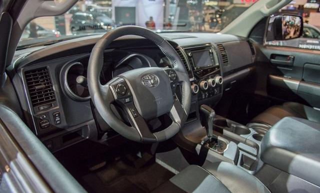 2021 Toyota Sequoia cabin