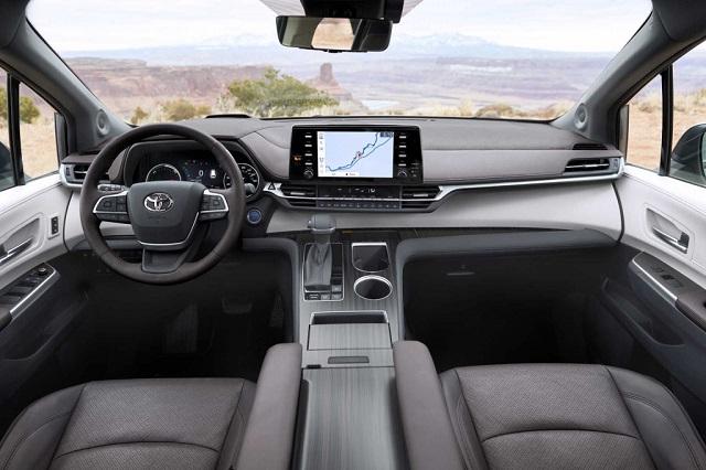 2021 Toyota Sienna cabin