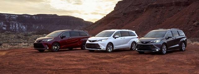 2021 Toyota Sienna front