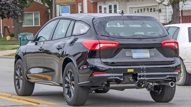 2022 Ford Fusion Active Wagon rear