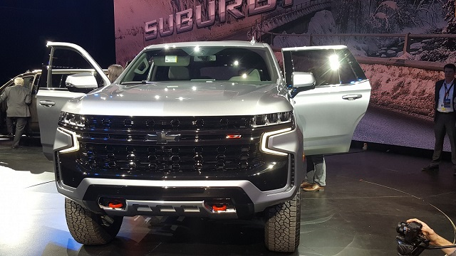 2021 Chevy Tahoe Z71 front