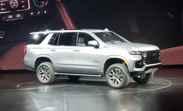 2021 Chevy Tahoe Z71 side