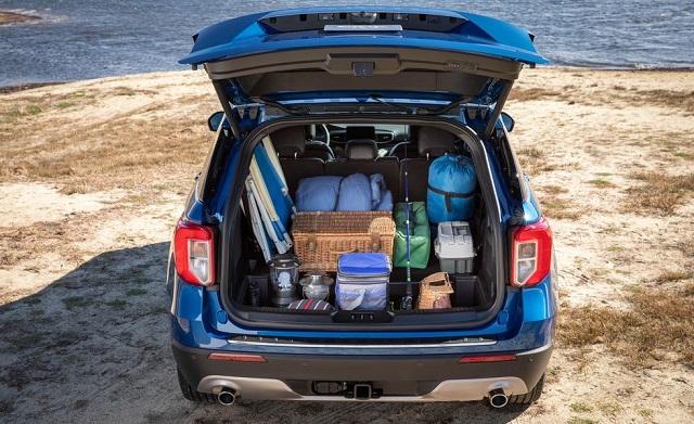 2021 Ford Explorer rear