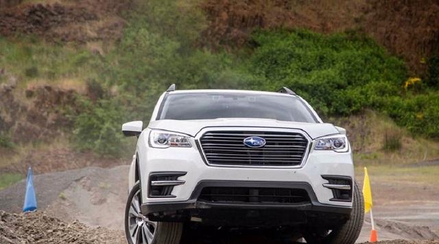 2021 Subaru Ascent front
