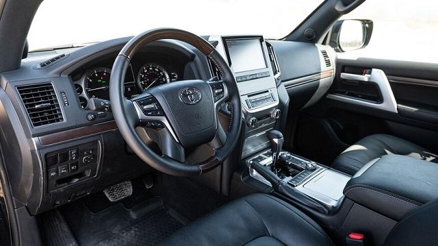 2021 Toyota Land Cruiser cabin