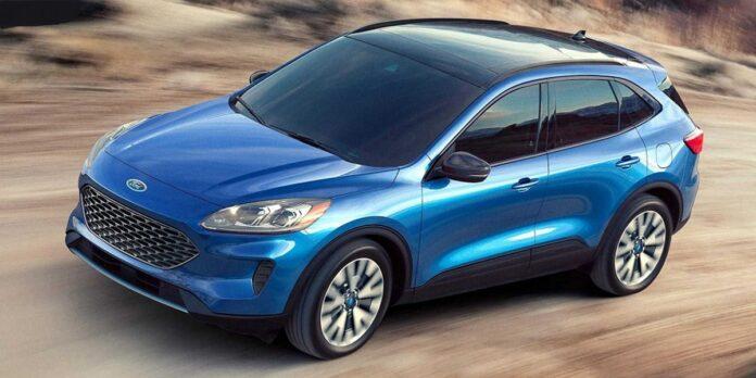 2021 Ford Escape front