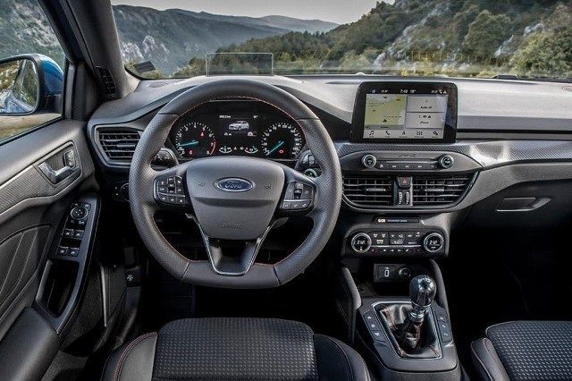 2021 Ford Escape interior