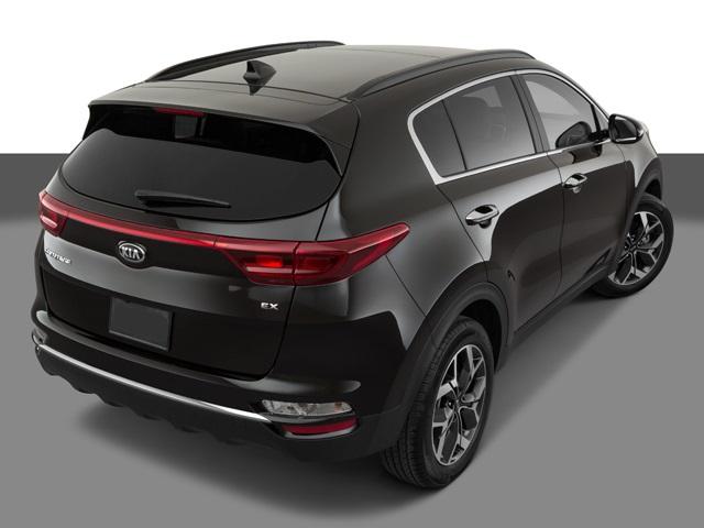 2021 Kia Sportage rear