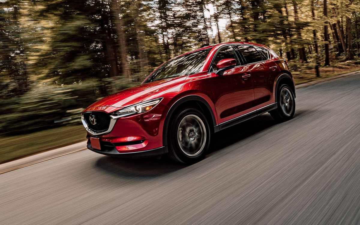 2021 Mazda CX-5 Gains a New 10.3-Inch Touchscreen Display ...