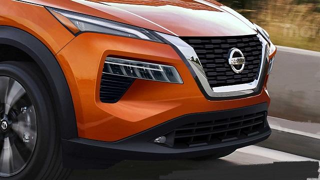 2021 Nissan Qashqai Front