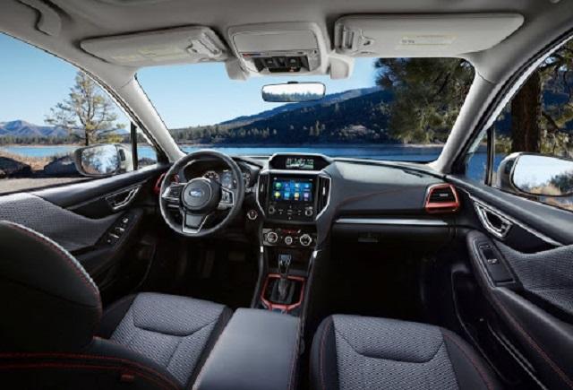 2021 Subaru Forester cabin