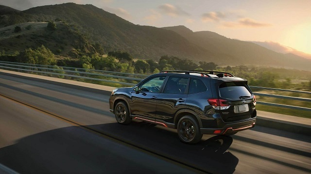 2021 Subaru Forester rear