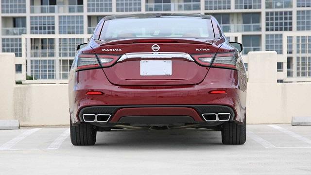 2022 Nissan Maxima rear