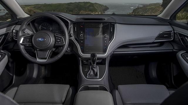 2022 Subaru Outback cabin