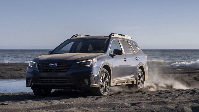 2022 Subaru Outback front
